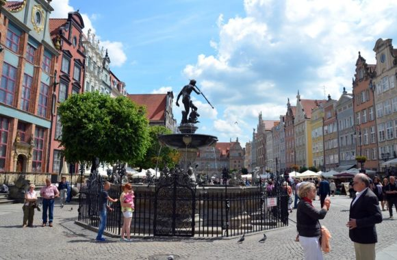 Neptunbrunnen Gdansk